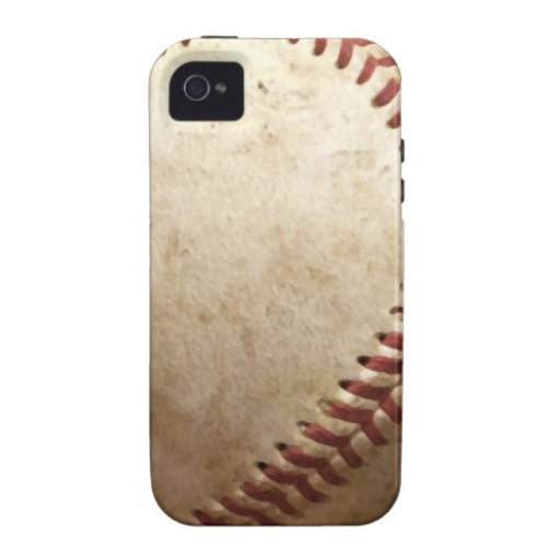Vintage Baseball Case-Mate iPhone 4 Cases