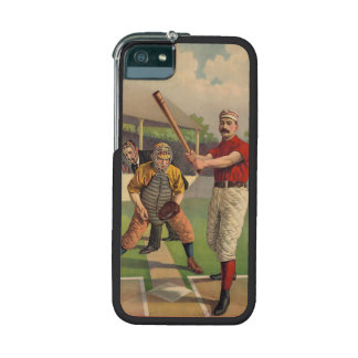 Vintage Baseball iPhone 5/5S Cases