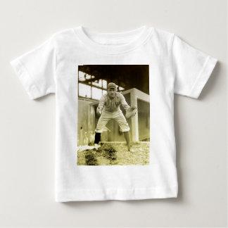 Vintage Baseball Catcher Baby T-Shirt