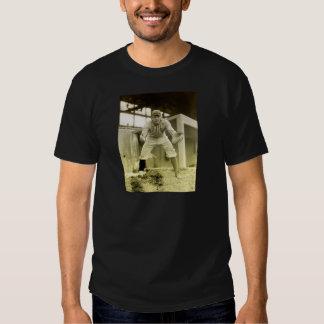 Vintage Baseball Catcher T-Shirt