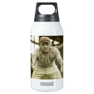 Vintage Baseball Catcher Thermos Water Bottle