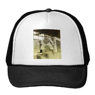 Vintage Baseball Catcher Trucker Hat