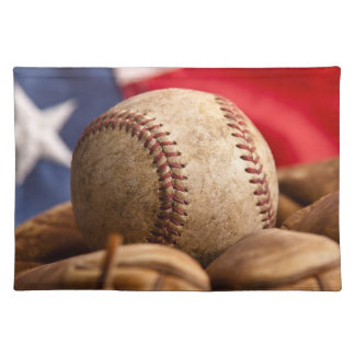 Vintage Baseball Cloth Placemat