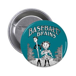 Vintage Baseball Design Button