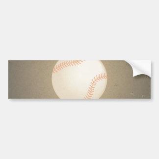 Vintage Baseball Design. Sport Pattern Bumper Sticker