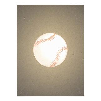 Vintage Baseball Design. Sport Pattern Invites
