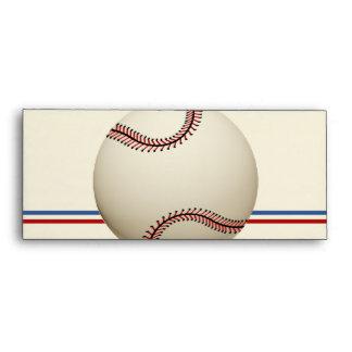 Vintage Baseball Field Pass Envelope