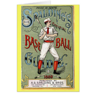 Vintage Baseball Guide Card