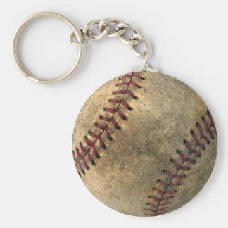 Vintage Baseball Keychain