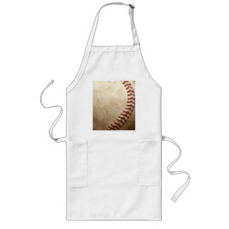 Vintage Baseball Long Apron