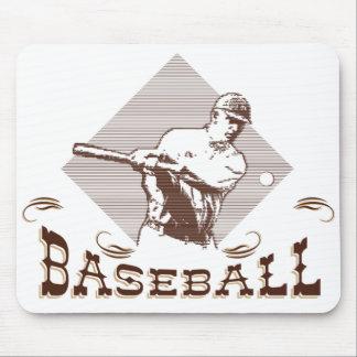 Vintage Baseball Mouse Pad