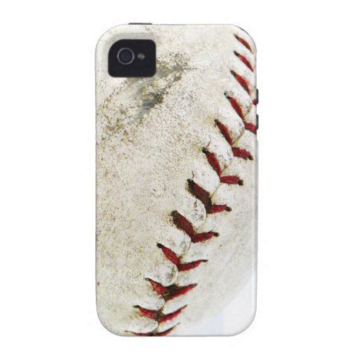 Vintage Baseball or Softball  Stitches Case-Mate iPhone 4 Cover