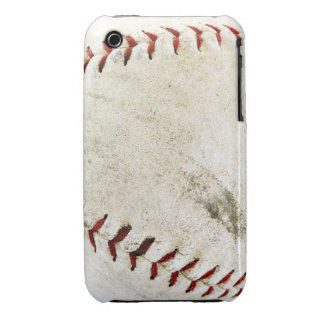 Vintage Baseball or Softball  Stitches iPhone 3 Cover