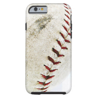 Vintage Baseball or Softball Stitches Tough iPhone 6 Case