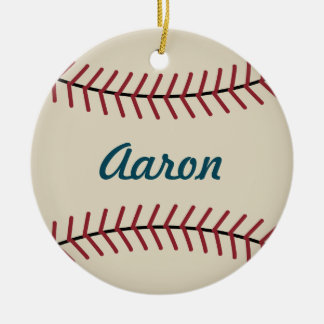 Vintage Baseball Ornament