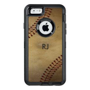 size 40 7a09a 6e40e Vintage Baseball OtterBox Defender iPhone Case