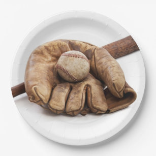 Vintage Baseball Paper Plate  sc 1 st  Zazzle & Antique Baseball Plates | Zazzle