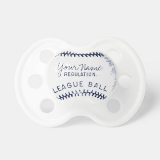Vintage Baseball, personalized ball Pacifier