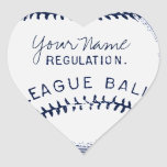 Vintage Baseball, personalized ball Stickers