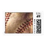 Vintage Baseball Postage Stamps