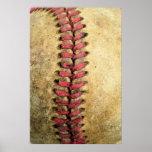 Vintage Baseball Poster