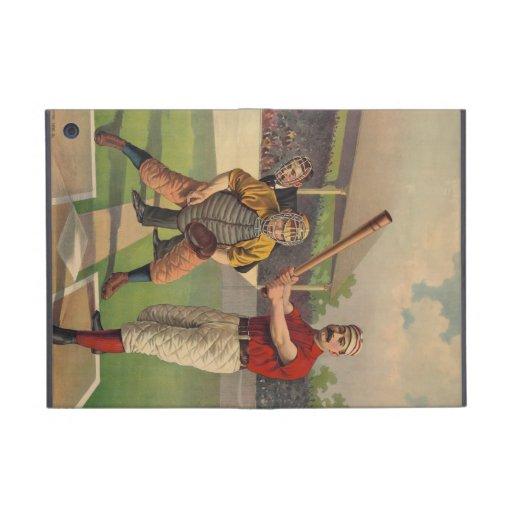 Vintage Baseball Poster iPad Mini Cases