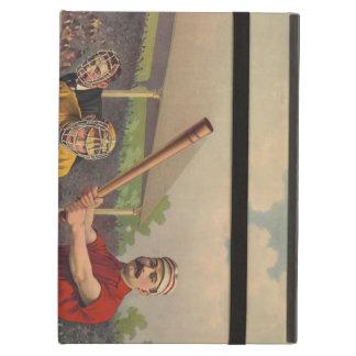 Vintage Baseball Poster iPad Covers