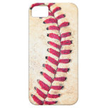 Vintage Baseball Red Stitches Close Up Photo iPhone 5 Case