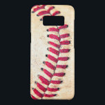 "Vintage Baseball Red Stitches Close Up Photo Case-Mate Samsung Galaxy S8 Case<br><div class=""desc"">Cool Baseball Case-Mate Barely There for Samsung Galaxy S8 with a close-up of a baseball.</div>"