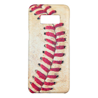 Vintage Baseball Red Stitches Close Up Photo Case-Mate Samsung Galaxy S8 Case