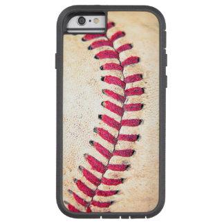 Vintage Baseball Red Stitches Close Up Photo Tough Xtreme iPhone 6 Case