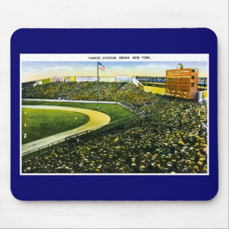 Vintage Baseball Stadium, Bronx, New York Mouse Pad