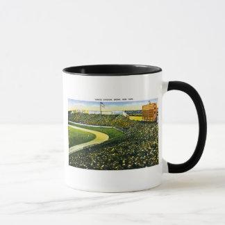 Vintage Baseball Stadium, Bronx, New York Mug
