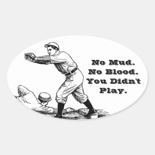 Vintage Baseball Sticker