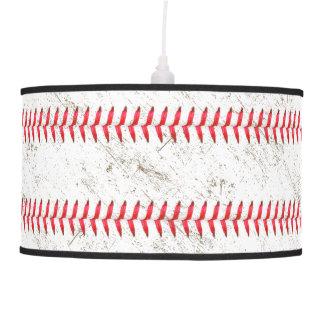 Vintage Baseball Stitching Hanging Lamp