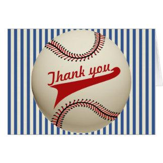 Baseball Thank You Cards | Zazzle