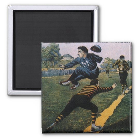 Vintage Baseball, Tip Top Weekly Magazine Cover 2 Inch Square Magnet