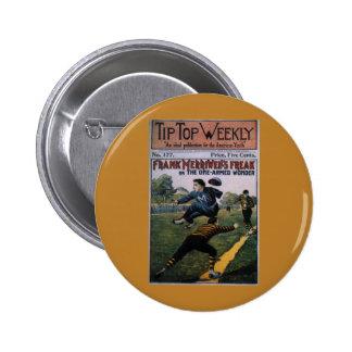 Vintage Baseball, Tip Top Weekly Magazine Cover Pins