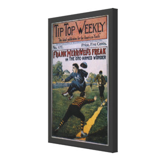 Vintage Baseball, Tip Top Weekly Magazine Cover Canvas Print