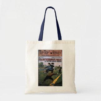 Vintage Baseball, Tip Top Weekly Magazine Cover Tote Bag