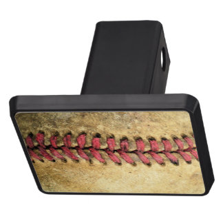 Vintage Baseball Trailer Hitch Covers