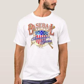 Vintage Baseball USA Shield T-Shirt