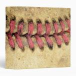 Vintage Baseball Vinyl Binder