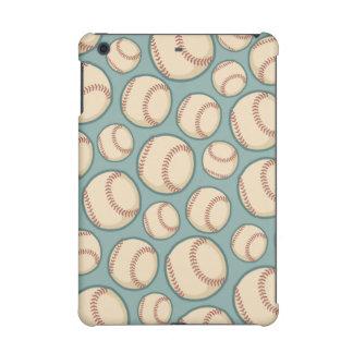 Vintage Baseballs Pattern iPad Mini Retina Covers
