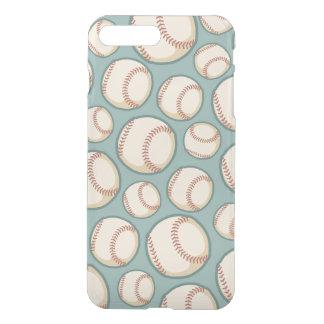 Vintage Baseballs Pattern iPhone 8 Plus/7 Plus Case