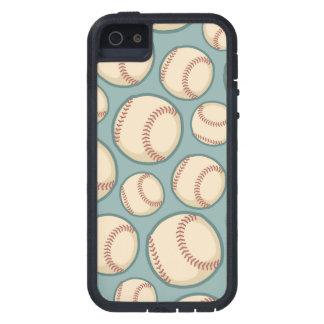 Vintage Baseballs Pattern iPhone SE/5/5s Case