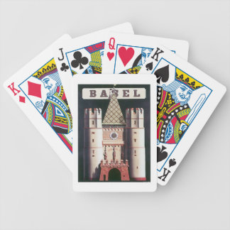 Vintage Basel Switzerland Playing Cards