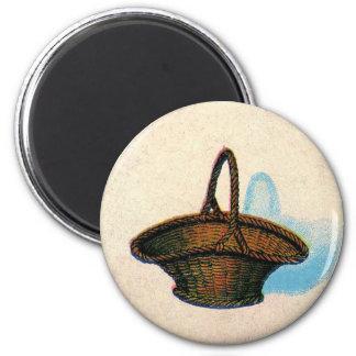 Vintage Basket Magnet