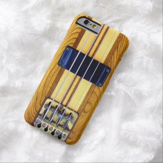 Vintage Bass Guitar Barely There iPhone 6 Case