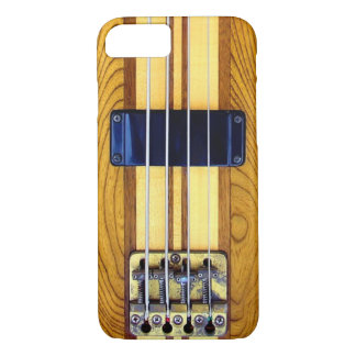 Vintage Bass Guitar iPhone 7 Case